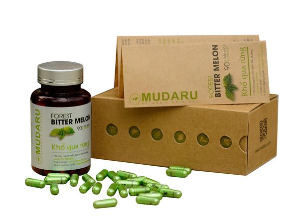 vì sao viên uống khổ qua rừng Mudaru giúp chữa bệnh tiểu đường