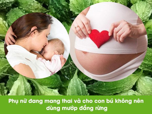 me-bau-khong-nen-su-dung-kho-qua-rung