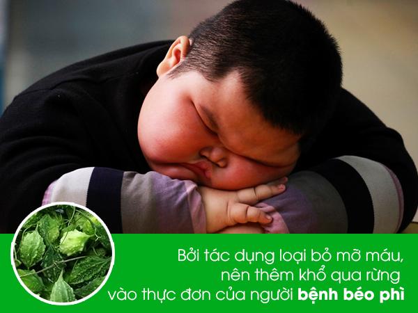 kho qua rung la thuc pham cho nguoi benh beo phi