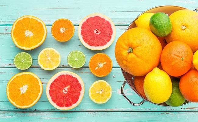 Trái cây giàu C là thực phẩm tốt cho người bệnh rối loạn tiền đình