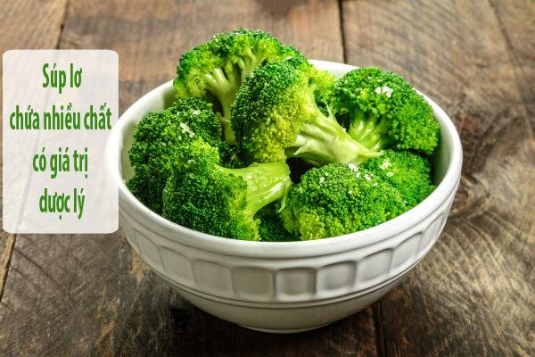 bông cải xanh là những thực phẩm cho người bị yếu sinh lý nam
