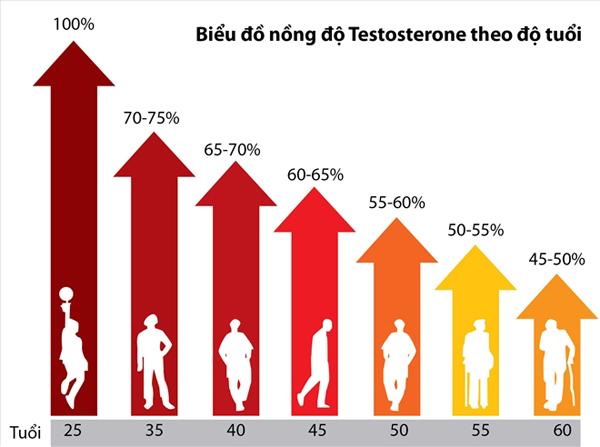 biểu đồ bệnh yếu sinh lý nam