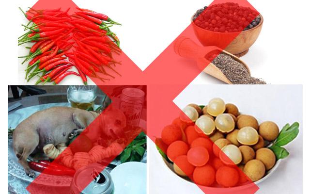 những thực phẩm người bệnh yếu sinh lý nam không nên ăn