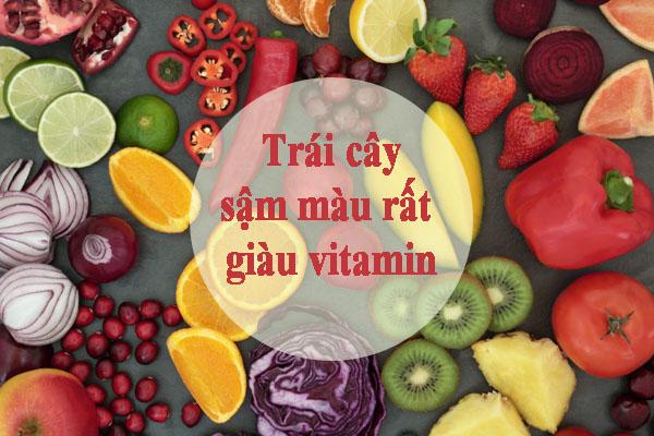 vitamin trong trái cây là thực phẩm cho người bệnh thiếu mãu não