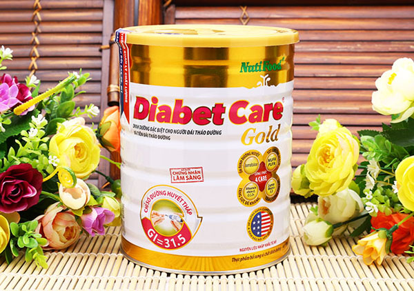 sua Diabetcare Gold la thuc an danh cho nguoi benh tieu duong