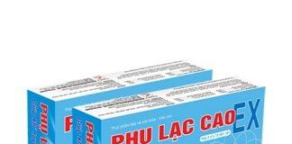 đau bụng kinh Phụ Lạc Cao EX