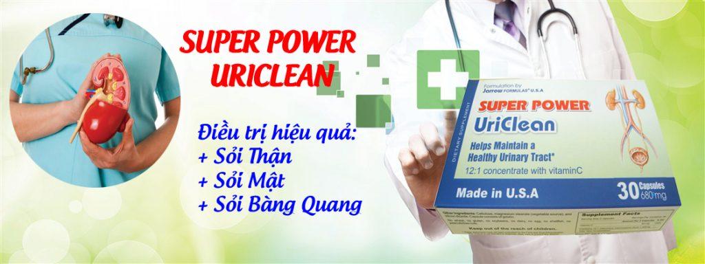 thuốc Super Power Uriclean