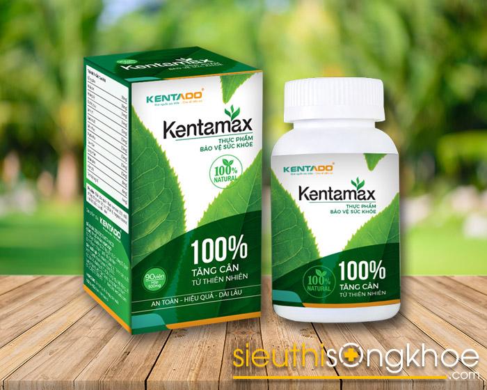 thuốc tăng cân kentamax có tốt không mua ở đâu giá bao nhiêu