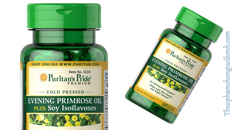 Evening Primrose Oil Plus Soy Isoflavones