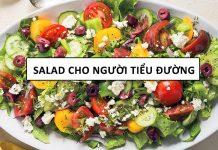 cách làm salad cho người bệnh tiểu đường