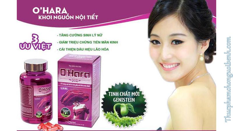 thuốc tăng cường sinh lý nữ Ohara