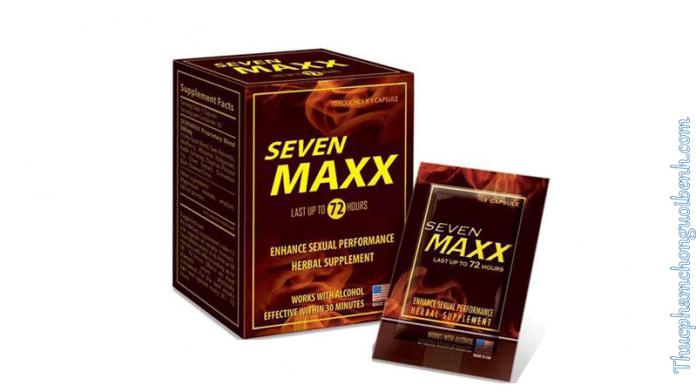 cải thiện chức năng sinh lý nam Seven Maxx