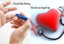 thực đơn cho người bệnh tiểu đường cao huyết áp