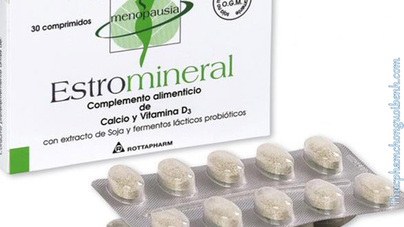 thuốc cải thiện triệu chứng tiền mãn kinh Estromineral