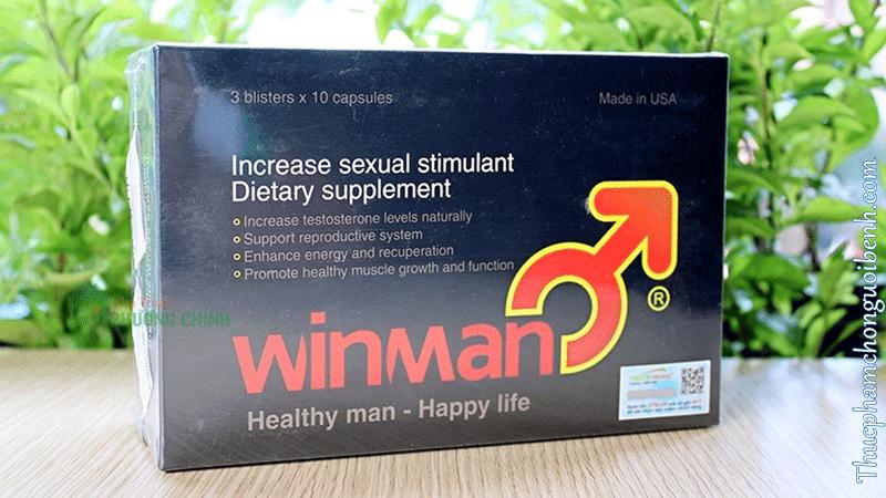 thuốc hỗ trợ điều trị hiếm muộn ở nam giới Winman