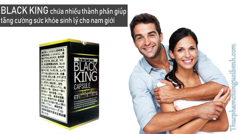 Black King - Hỗ trợ tăng cường sinh lý nam giới có tốt không? Giá bao nhiêu? Mua ở đâu?