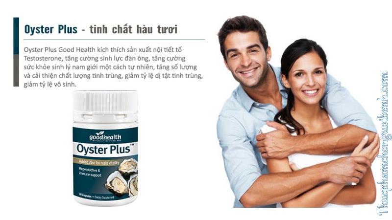 Oyster Plus - Tăng cường sinh lý đàn ông có tốt không? Giá bao nhiêu? Mua ở đâu?