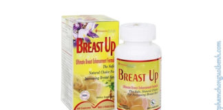 Breast Up - Vòng ngực đầy đặn và săn chắc có tốt không? Giá bao nhiêu? Mua ở đâu?