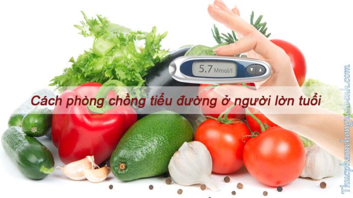 Mách bạn cách phòng chống bệnh tiểu đường ở người lớn tuổi