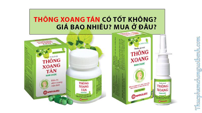 thong xoang tan co tot khong
