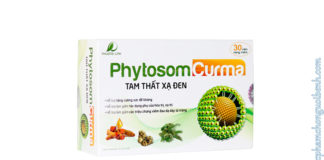viên uống Phytosome Curma Tam Thất Xạ Đen
