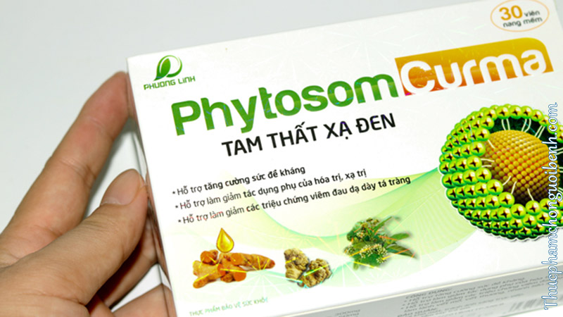 viên uống Phytosome Curma Tam Thất Xạ Đen mua ở đâu
