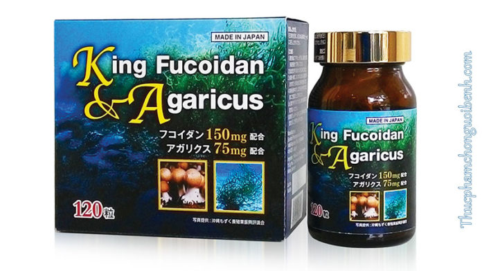 king fucoidan & agaricus có tốt không