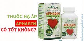 thuốc hạ áp apharin có tốt không