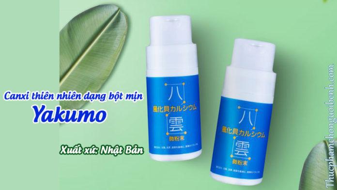 canxi thiên nhiên phong hóa sò yakumo dạng bột mịn