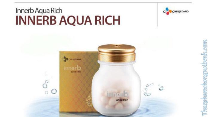 viên uống cấp nước collagen innerb aqua rich
