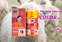 viên uống nhau thai cừu costar 35000mg có tốt không