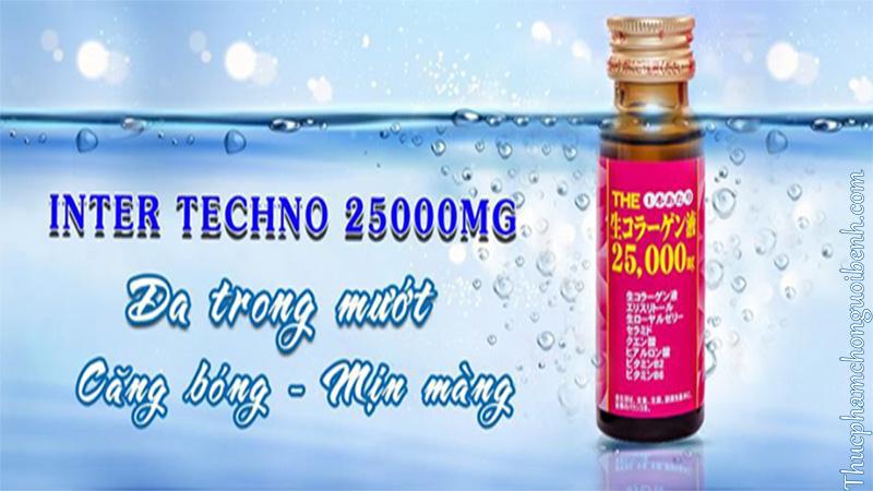 nước uống collagen inter techno có tốt không