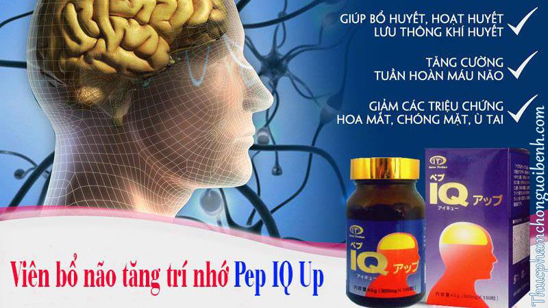 viên bổ não tăng trí nhớ pep iq up có tốt không