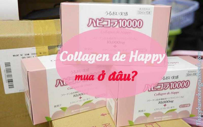 nước uống collagen de happy có tốt không