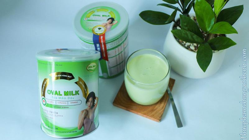sữa mầm đậu oval milk có tốt không