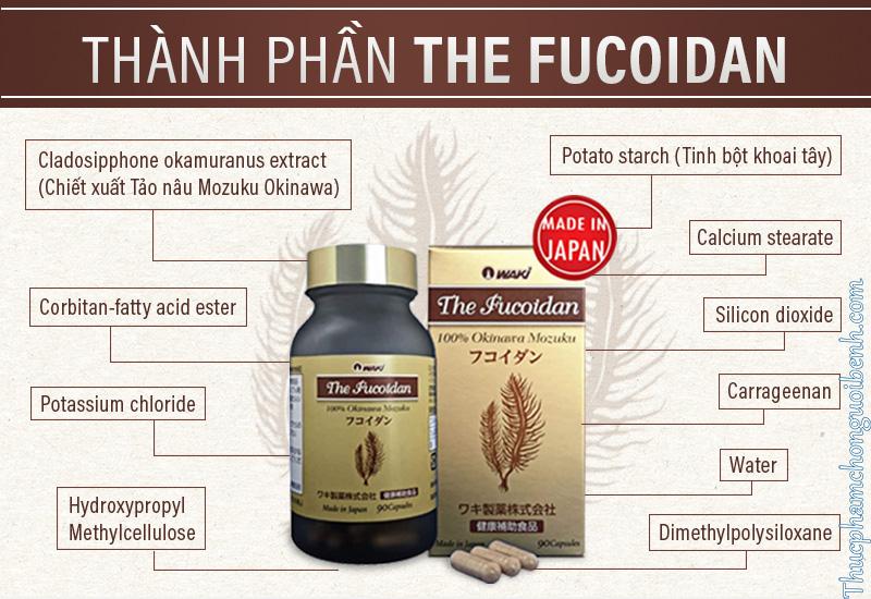 viên uống the fucoidan có tốt không