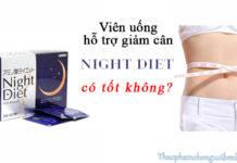 viên uống night diet orihiro có tốt không