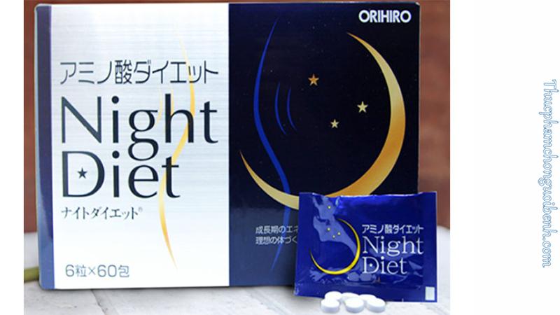 viên uống night diet có tốt không