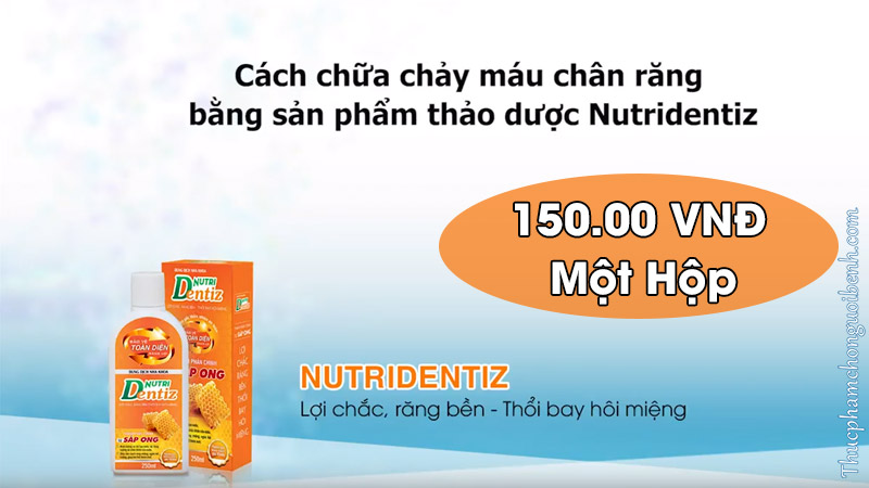 nutridentiz co tot khong