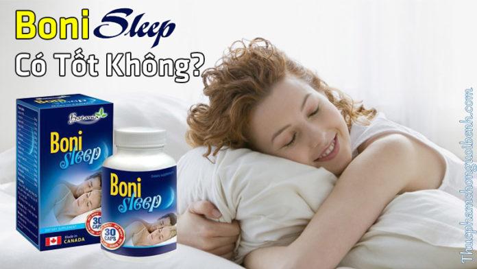 viên giúp ngủ ngon bonisleep có tốt không