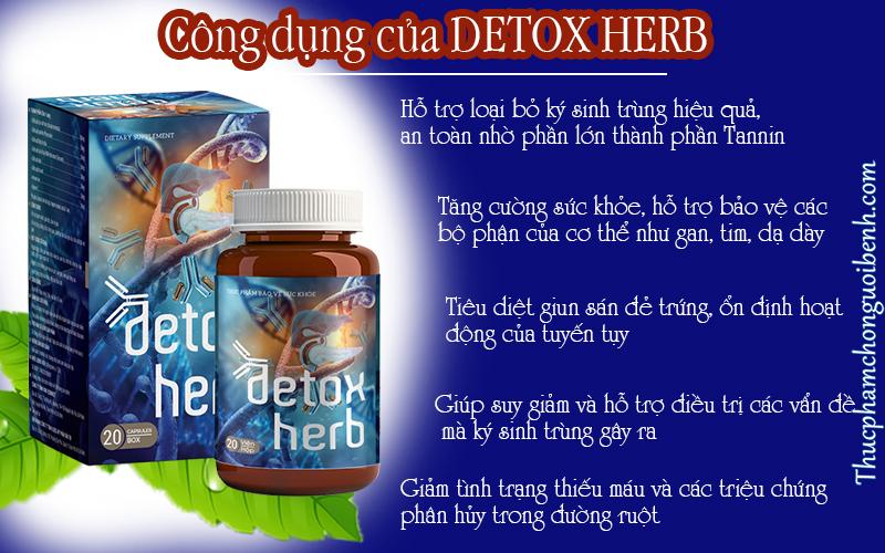 detox herb có tốt không