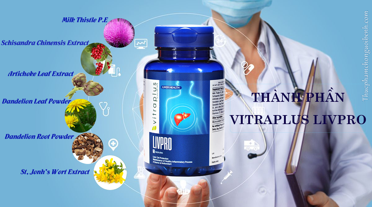 viên uống bổ gan giải độc vitraplus livpro có tốt không