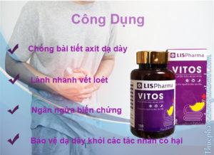 Vitos hỗ trợ điều trị dạ dày hiệu quả