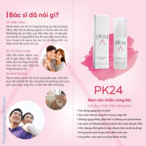 đánh giá gel pk24
