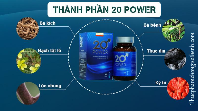 thanh phan 20 power
