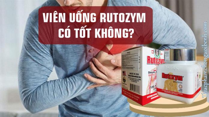 viên uống rutozym có tốt không
