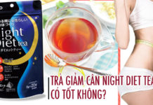 tra giam can night diet tea co tot khong1