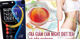 tra giam can night diet tea co tot khong1