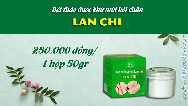 bột thảo dược khửu mùi lan chi giá bao nhiêu
