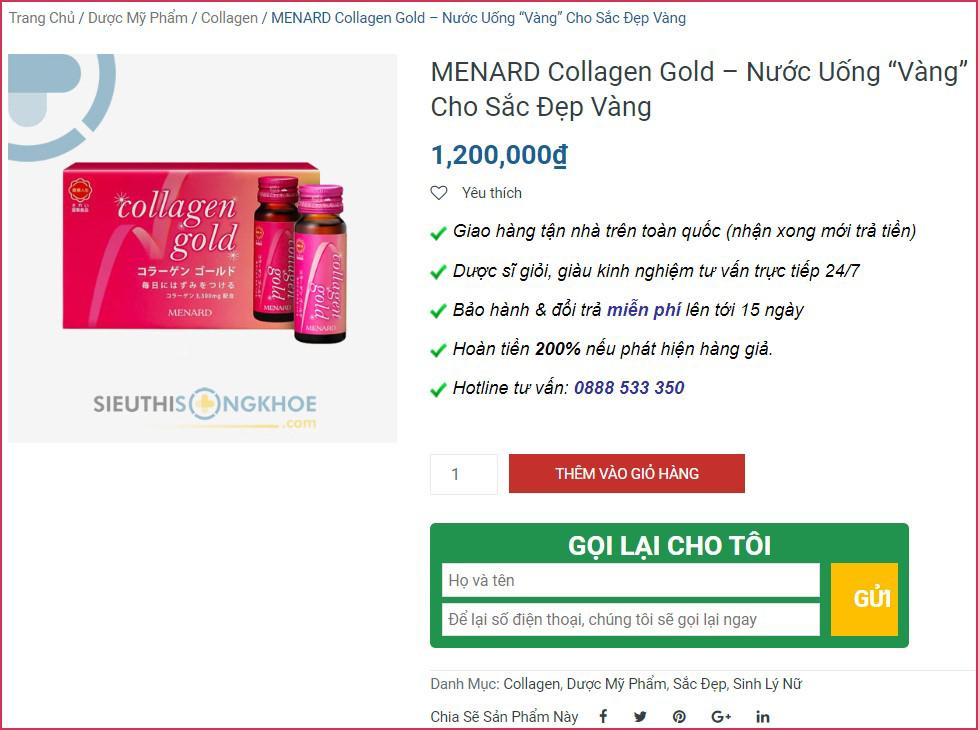 collagen gold mua ở đâu